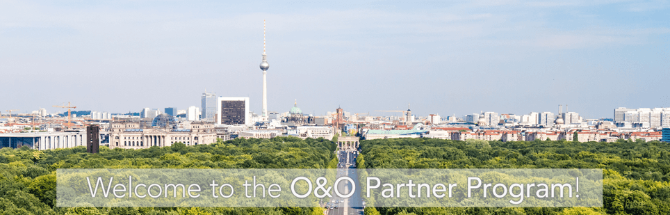 Welcome to O&O Partner Program